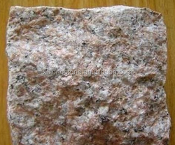 Yongding Red G696 Granite Paving Stone,Red Granite Cube Stone Floor Covering