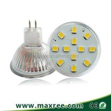 2835SMD led MR11 1.8W high lumen Ra>80 glass led spotlight bulb energy saving star halogen lamp equivalence MR11 led spotlight