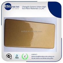 Thermoset Electrostatic Gold Powder Coating Paint