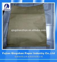 Papel Kraft PP saco tecido embalagem saco de areia cimento de carvão