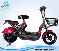 China's electric scooters green city