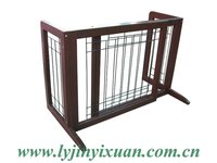 portable wood dog cage