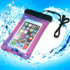 promotional custom clear plastic waterproof pvc cell phone bag