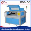 bajo costo de plástico de corte por láser de la máquina