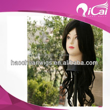 Fashion hair wigs products 8-40inch wavy indian human hair full lace wig