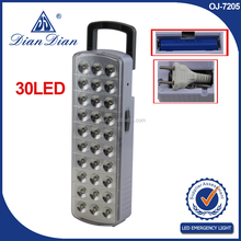 Super quality great material professional supplier rechargeable fire emergency light with sign