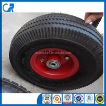Small rubber tire