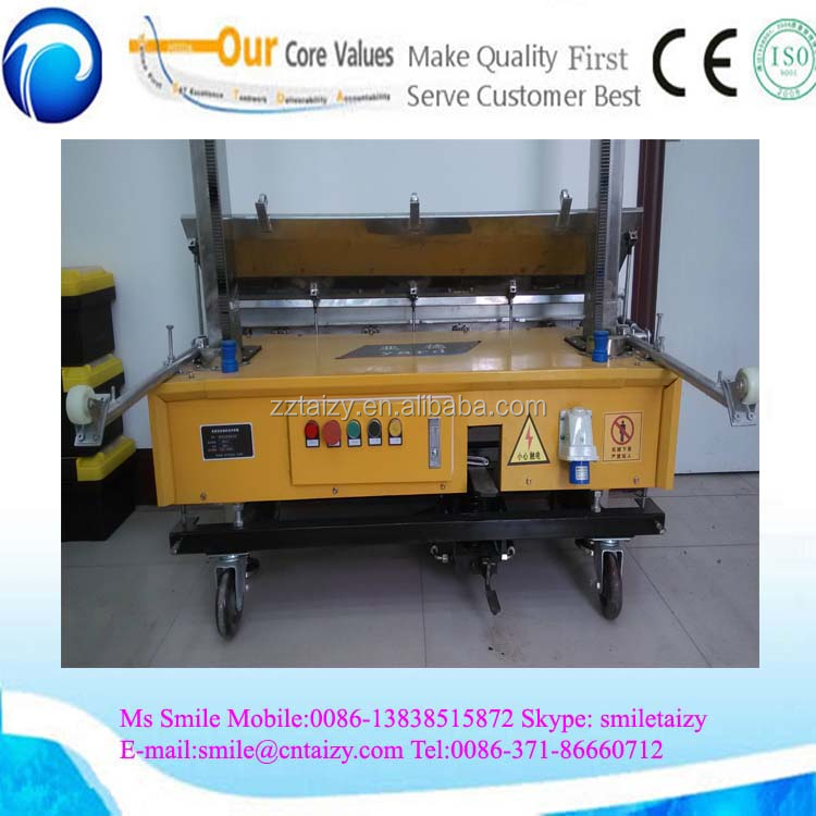 Tz 120automatic Wall Plastering Machinewall Plastering