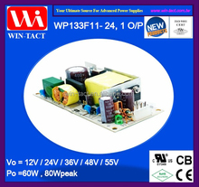 High efficiency mini smps power supply for dc motor driver 24v 60w