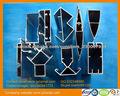 series 6000 Perfil de extruido aluminio anodizado para marcos solares
