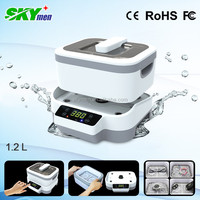 New arrival! Skymen detachable ultrasonic cleaner with touch screen JP-1200
