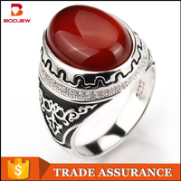 Indonesia big stone rings, Turkish jewelry set 925 sterling silver jewelry ring custom 2015 silver jewelry latest men's ring set