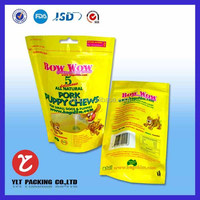 health food aluminum foil resealble bag food packaging for fruit and snack