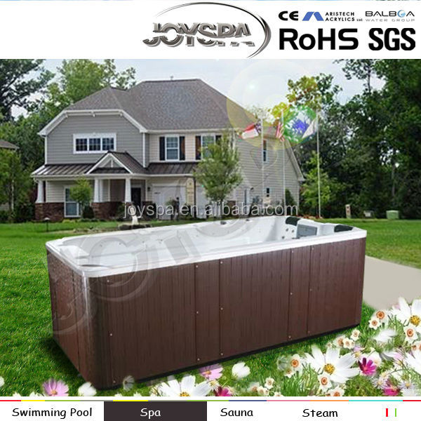 Factory price outdoor spa/ hot massage bathtub/ massage luxury outdoor spa