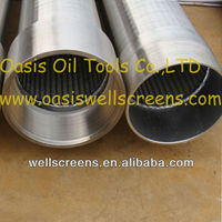 OASIS stainless steel male-female thread water well screen filter