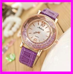 KD6311 fashion wholesale luxury China crystal lady watch factory