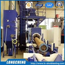 High Efficiency Steel Pipe Shot Blast Cleaning Machine