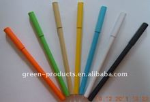 new designed biodegradable paper ball pen (TNP003)