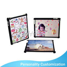 2015 New arrive fashion Sublimation Plastic cover for iPad