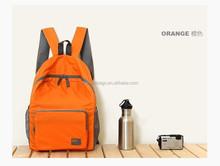 waterproof nylon foldable backpack travel