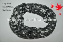2012 Lady's Fashionable Loop scarf with star pattern