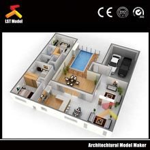 LST fancy 3d architectural internal and external rendering