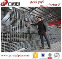 High quality and low price standard length of galvanized pipe