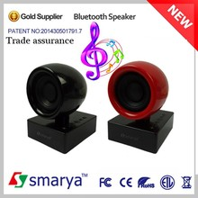 2015 hot New Fashional portable speaker cabinets, bluetooth 4.0 active speaker 1 channel