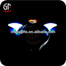 Hot Selling Coloful Multicolor Flash Glow Devil Horns