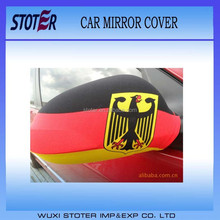 Promotion Car mirror cover /car mirror flag