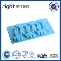 Iron man shaped silicone home made silicone ice tray