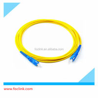 SC Fiber Optic Patch Cord SC/APC, SC/UPC Optical Fiber Jumper