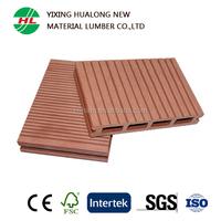 Anti-slip and Waterproof Wood Plastic Composite Decking WPC Flooring