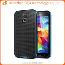 Sales promoting mesh neo hybrid case for samsung, 2 in 1 tpu case for samsung galaxy s5 I9600