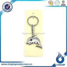 hot sale cartoon dolphin key holder metal