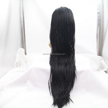 wholesale fashion braid styles synthetic lace front wig