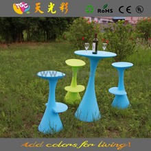 High fashion Customized CE garden furniture outdoor study table and chair set