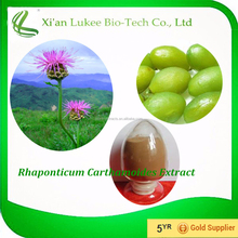 Factory price high quality 100% natural and pure Rhaponticum Carthamoides Extract 5:1;10:1;20:1 Maral Root Extract