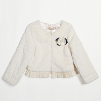 factory direct selling girls winter cape nice woolen coat for little girls