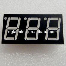 low price hot alibaba express 3 digit 7 segment led display