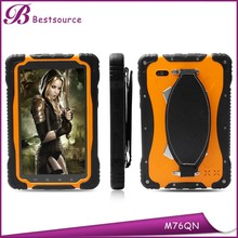 Rugged Tablet 7inch with MTK6589T Quad core 1G+16G 1024*600 IPS 3G Rugged Tablet Phone