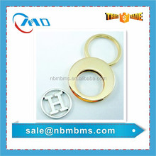Promotion Cut-out Logo Shopping Trolley Coin Holder