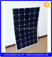 import from china pv mdule manufacturers 150w marine flexible solar panel for RV for boats