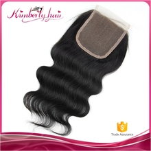 Excellent quality 5x5 silk top closure pieces, qingdao hot hair product