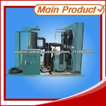 fabricante de máquinas de hielo en escamas profesional para los clientes en el extranjero