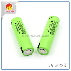 CGR18650CG lithium battery 2250mah CGR18650CG 3.7V battery with button top for flashlights