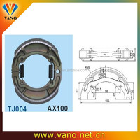 China Factory Price AX100 Brake Shoe Motorcycle