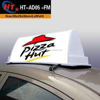 Hongteng factory new 90cm taxi roof led taxi advertise