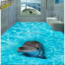 Modern Design International Standard 3D Bathroom Tile Dolphin Picture in Competitive Price