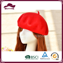 Fashion women knitted beret wool hat winter hat